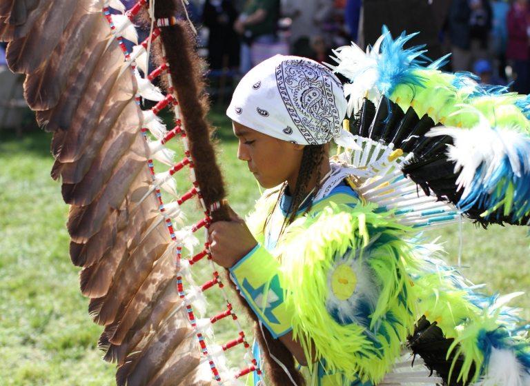 Le 40è Powwow annuel de l'École indienne St Joseph