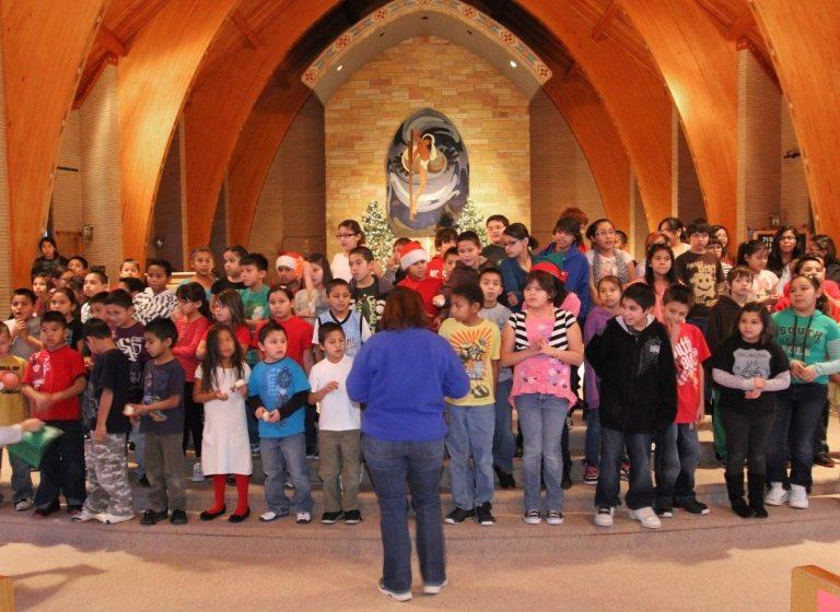 L'esprit de Noël à l'École indienne St Joseph