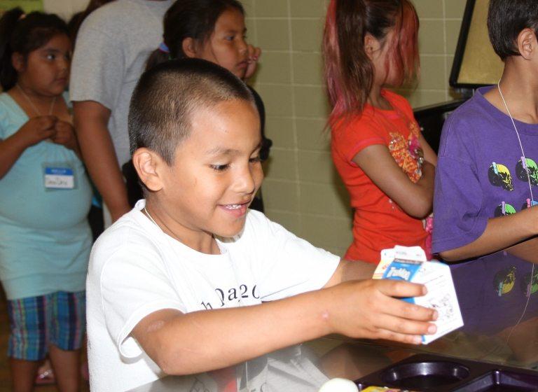 Le programme CATCH donne aux élèves une nouvelle approche de l'alimentation et de l'exercice