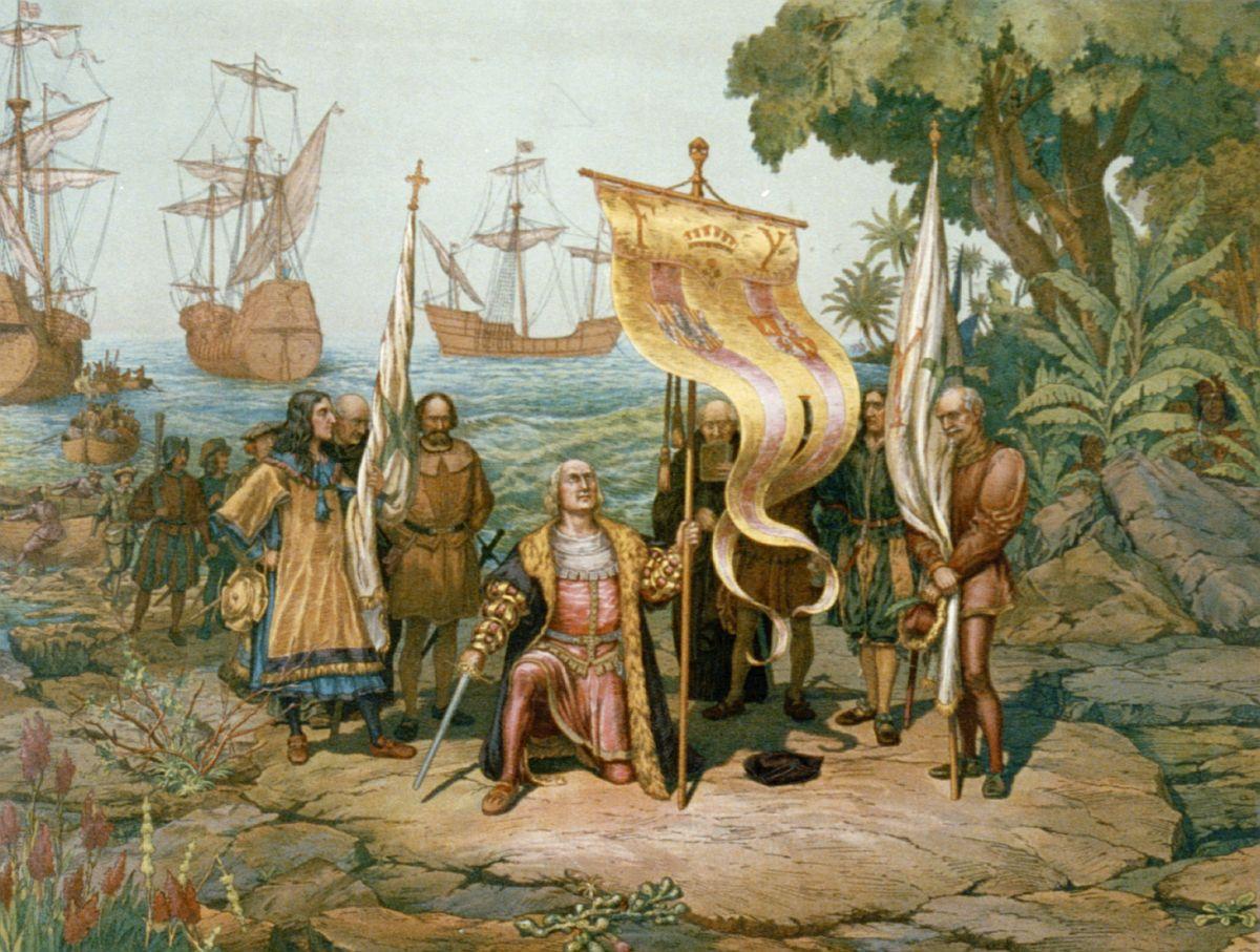 Larriv de Christophe Colomb